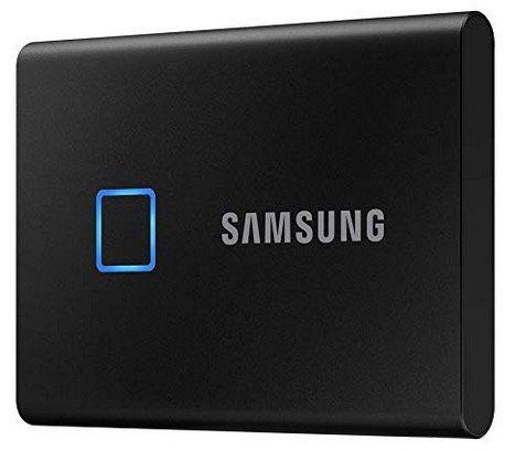 Samsung Portable SSD T7 Touch externe SSD 1TB für 157,09€ (statt 221€)