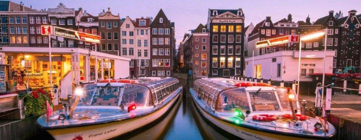 Amsterdam Städtetrip inkl. Grachtenfahrt und ÜN/F im z.B. 4*S Hotel ab 85€ p.P.