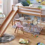 Bessagi Kinder-Spielbett mit Rutsche ab 69,30€ (statt 190€)