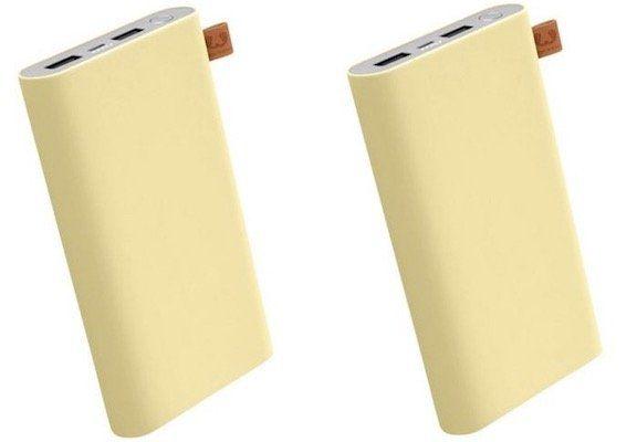 Fehler? 2er Pack Fresh n Rebel Buttercup Powerbank mit je 18.000 mAh für 25€ (statt 88€)