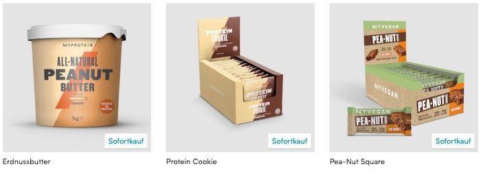 MyProtein: Snack Sale mit 40 Extra Rabatt   z.B. 1kg Erdnussbutter für 4,19€ (statt 7€)