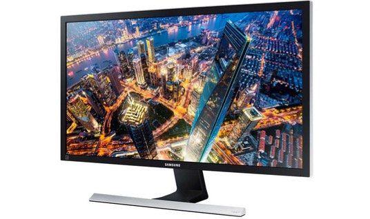 Samsung U28E570DS 28 UltraHD Monitor mit FreeSync in Schwarz nur 199,80€ (statt 250€)