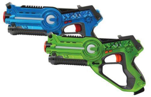Jamara Impulse Lasertag Set Laser Gun Battle (blau/grün) ab 22,99€ (statt 51€)