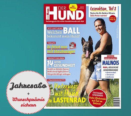 Jahresabo Der Hund für 39€ inkl. 20€ Gutscheinprämie