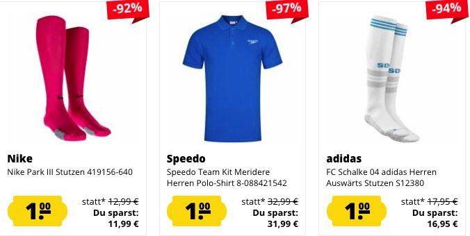 Schnell! 🔥 SportSpar mit 1€ Restposten Sale