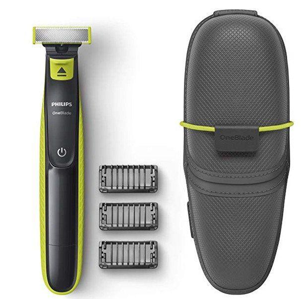 Philips Oneblade Qp2520/65 Barttrimmer mit 3 Aufsätzen + Reisetasche für 32,85€ (statt 49€)