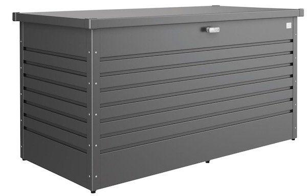 Biohort Freizeitbox Größe 3 (180x78x70cm) wasserdicht aus feuerverzinktem Stahlblech für 399,20€ (statt 458€)