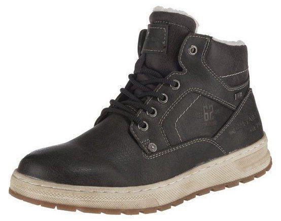 Tom Tailor High Sneakers in Leder Optik mit Ziernähten für 38,94€ (statt 55€)