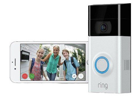 Ring Video Doorbell 2 Türklingel mit Bewegungssensor für 74,90€ (statt 95€)