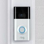 Ring Video Doorbell 2 Türklingel mit Bewegungssensor für 90€ (statt 109€)