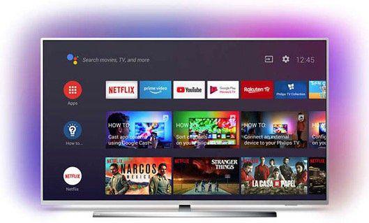 Philips 50PUS7304   50 Zoll UHD Fernseher mit 3 seitigem Ambilight für 459€ (statt 549€)