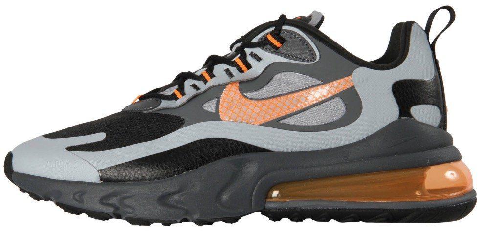 Nike Air Max 270 React Sneaker in Grau Orange für 88,41€ (statt 112€)