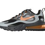 Nike Air Max 270 React Sneaker in Grau-Orange für 88,41€ (statt 112€)