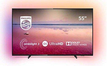 Philips 55PUS6704 139cm 55 4K UltraHD Fernseher mit Ambilight für 417,17€ (statt 499€)