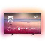 Philips 55PUS6704 139cm 55″ 4K UltraHD Fernseher mit Ambilight für 417,17€ (statt 499€)