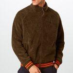 """Polo Ralph Lauren Teddyjacke """"Vintage Sherpa"""" in Braun für 90,30€"""