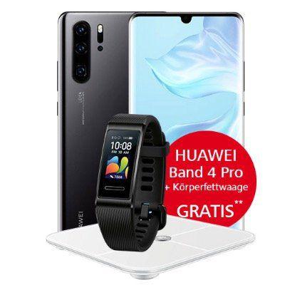 Huawei P30 Pro mit Waage und Band 4 Pro für 49€ + Vodafone Flat mit 20GB LTE für 29,99€ mtl.