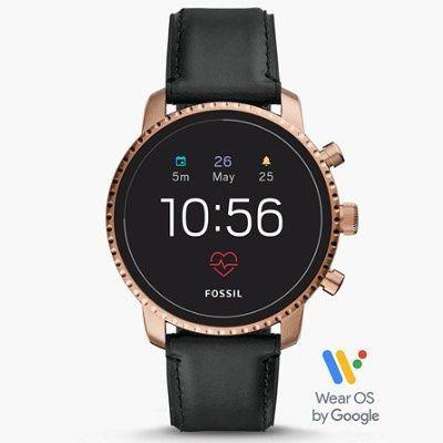 Fossil Q Explorist HR 4 Herren Smartwatch für 99€ (statt 132€)