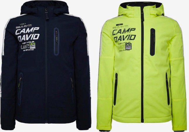 Camp David Softshelljacke in 2 Farben ab 107,20€ (statt 142€)