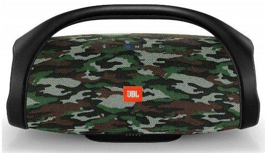 JBL Boombox   Wasserdichter Bluetooth Lautsprecher in Camouflage (20.000 mAh) für 259,90€ (statt 289€)