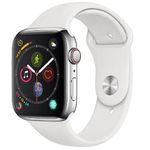 Apple Watch Series 4 LTE 44mm Edelstahlgehäuse mit Sportarmband für 449€(statt 549€)