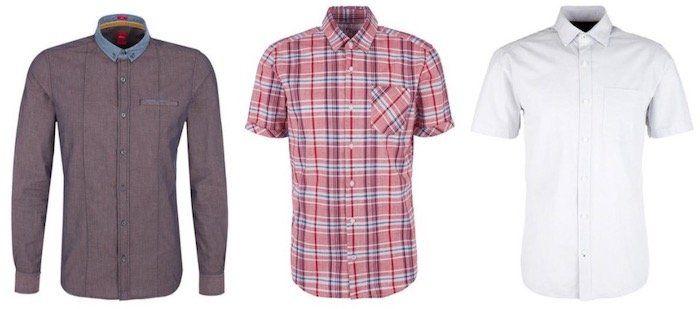 3er Pack s.Oliver Herren Hemden ab 30€ (statt 66€)
