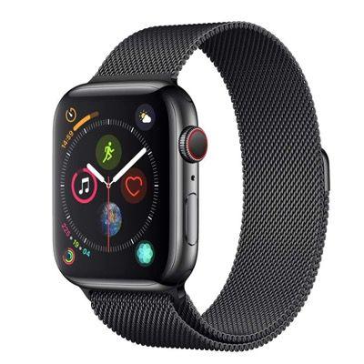 Ausverkauft! Apple Watch Series 4 LTE 44mm Edelstahlgehäuse mit Milanaise Armband für 376,97€ (statt 790€)