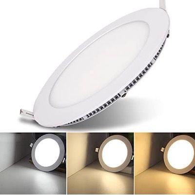 30% Rabatt auf Hengda LED-Einbaustrahler – z.B. 6er Pack mit 6Watt für 17,49€ (statt 25€)