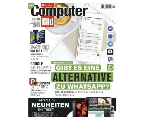 26 Ausgaben Computer Bild mit DVD für 159,90€ + Prämie: 135€ V-Scheck