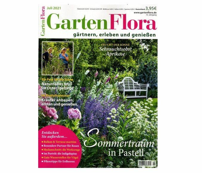 12 Ausgaben GartenFlora für 46,41€ + Prämie: bis 45€ Gutschein