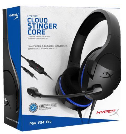 HYPERX Cloud Stinger Core PS4 Gaming Headset für 25€ (statt 34€)