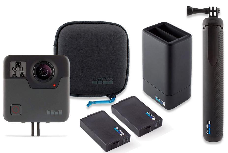 GoPro Fusion Action 360 Grad Kamera + Zubehörpaket für 277€ (statt 396€)