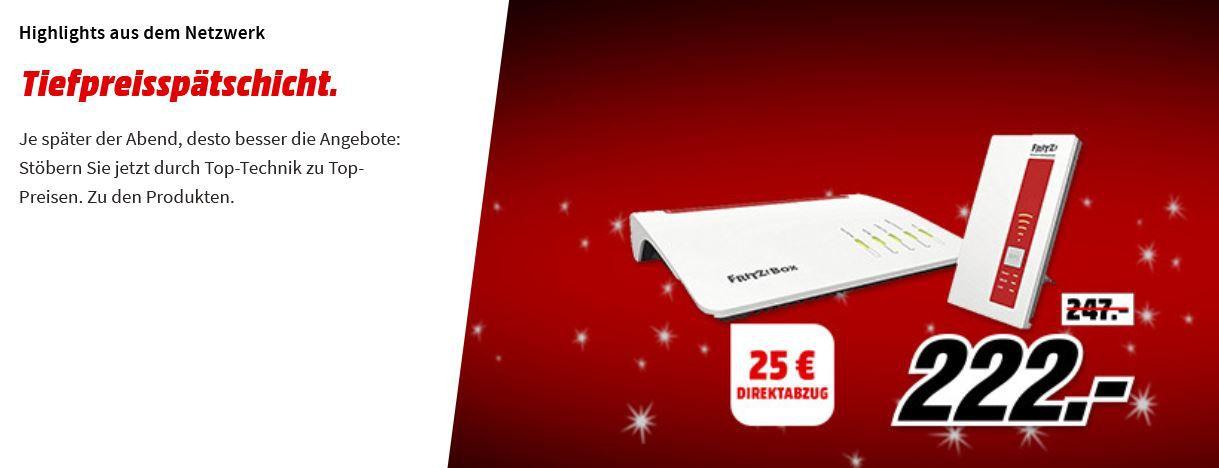 Media Markt Netzwerk Tiefpreisspätschicht: günstige Router, Telefone & Co.