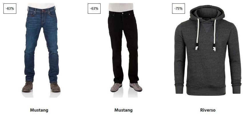 Jeans Direkt Late Night Sale bis Mitternacht 15% extra Rabatt ab 40€ VSK frei: z.B. Mustang Jeans ab 29,95€