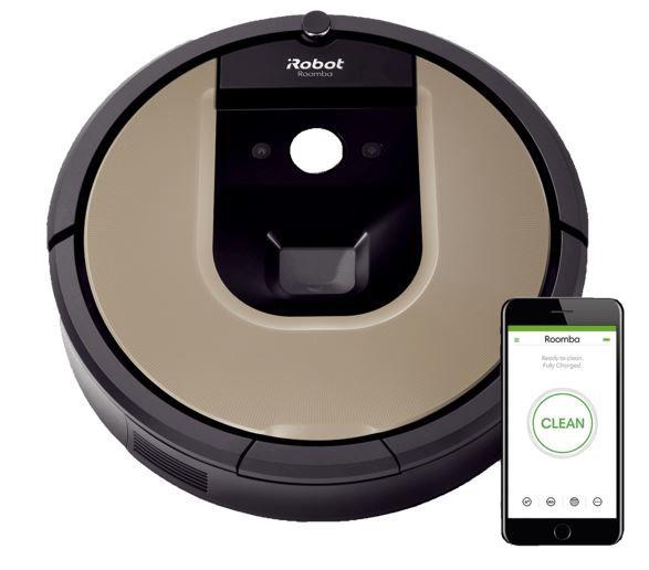 iRobot Roomba 966 Saugroboter App Steuerbar für 179,10€ (statt neu 375€) – generalüberholt