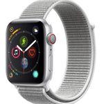 Apple Watch Series 4 LTE 44mm Aluminiumgehäuse Silber für 399,90€ (statt 454€)