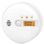Kohlenmonoxid-Warnmelder mit LCD-Anzeige mit 85Db Alarm für 12,99€ (statt 26€)