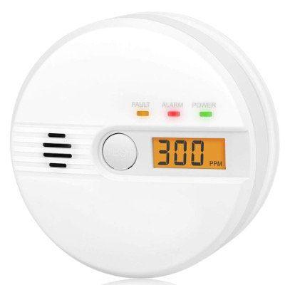 Kohlenmonoxid Warnmelder mit LCD Anzeige mit 85Db Alarm für 12,99€ (statt 26€)