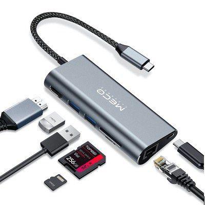 MECO Eleverde 7in1 USB C Hub 100W für 22,79€ (statt 38€)