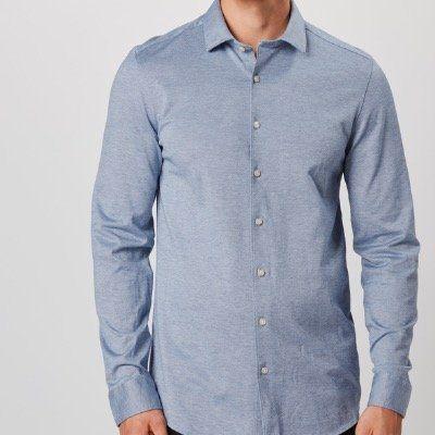 OLYMP Herren Hemd aus 100% Baumwolle in Marine für 26,06€ (vorher 70€)