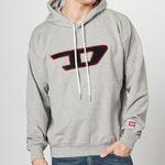 """DIESEL Sweatshirt """"S-DIVISION-D"""" in Grau für 59,93€ (statt 94€)"""