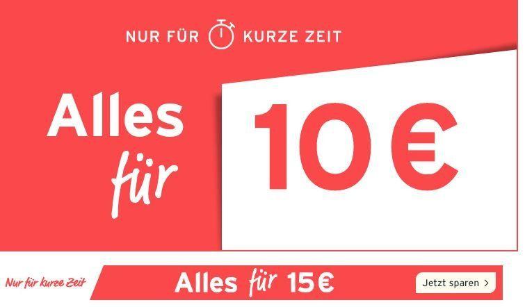 Tchibo Sale: Alles für 10€ oder 15€   z.B. Multitrainer für 10€ (VSK frei ab 20€)