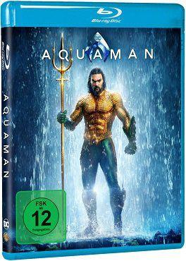 Aquaman als Blu ray für 12€ (statt 16€)