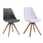 Esszimmer-Stühle im Designerstil in Weiß oder Grau je nur 17,50€ (vorher 40€)