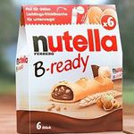 Gratis Trinkflasche mit nutella B ready