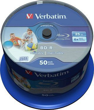 VERBATIM 43812 BD R Single Layer 25GB Rohling für 22€ (statt 30€)