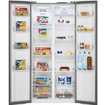 BOMANN SBS 7314 IX Side-by-Side Kühlschrank mit EEK A++ für 659€ (statt 699€)
