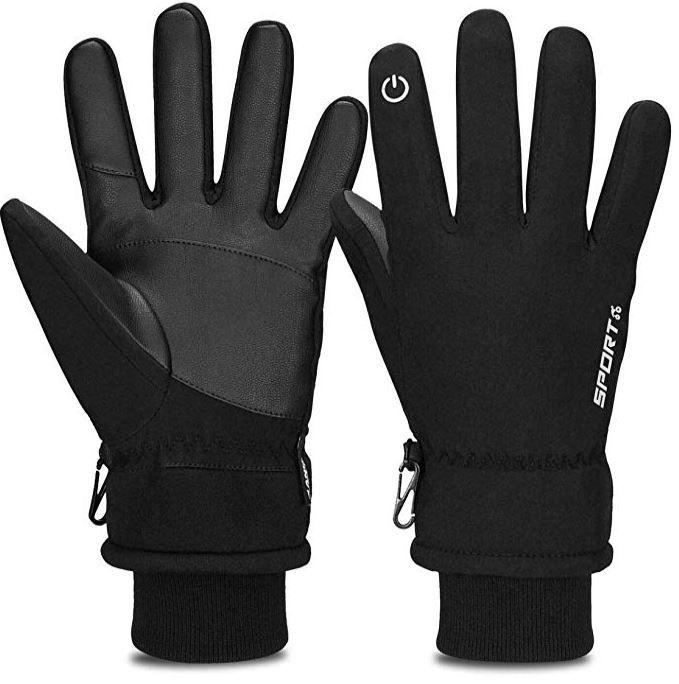 Cevapro warme Herren Touchscreen fähige Winterhandschuhe für 7,59€ (statt 19€)