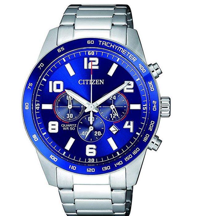 Citizen AN8161-50L – blauer Herren Chronograph für 84€ (statt 161€)