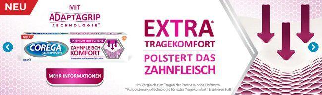 Rossmann: Corega Haftcreme kostenlos testen